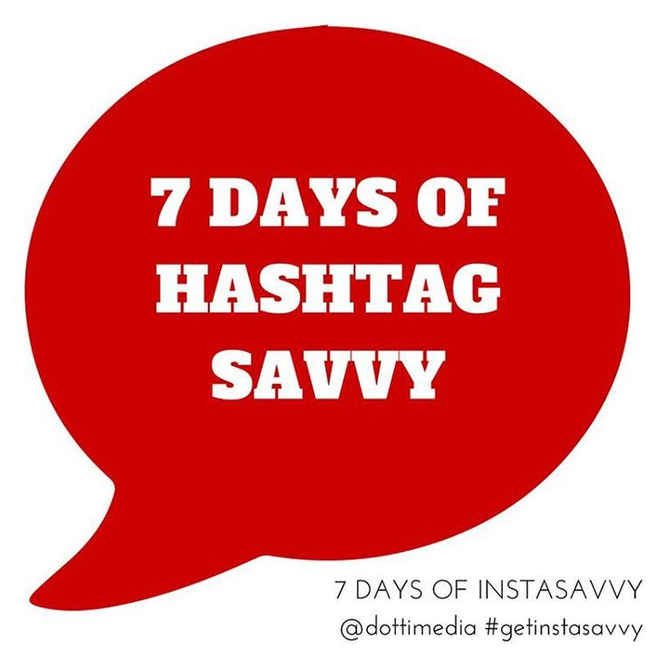 If you suffer from hashtag nightmares, or maybe they just leave you plain confused then this week is for you! We want you to start using better hashtags with your Instagram account!   For 7 Days we're posting our Dotti Ninja Hashtag tips for you to follow. #7DaysofHashtagSavvy
