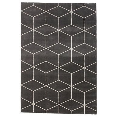 #Tapis 120x170 cm ORIGAMI #Gris/#Beige - BUT #Salon #Décoration #Graphique