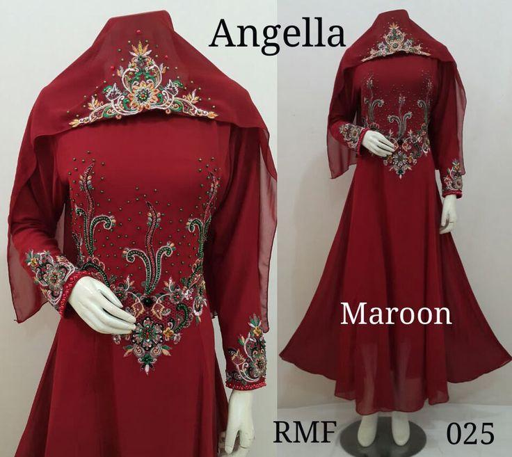 Fancy Abaya - Kaftan dress - Muslim Dress - Muslim Wedding Dress - Abaya Maxi Dress - Moroccan Kaftan - Dubai Kaftan - Angella Dress by Mustikacollection on Etsy