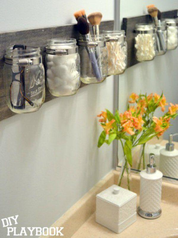 Coole Aufbewahrungsideen fürs Badezimmer um Ordnung zu halten!