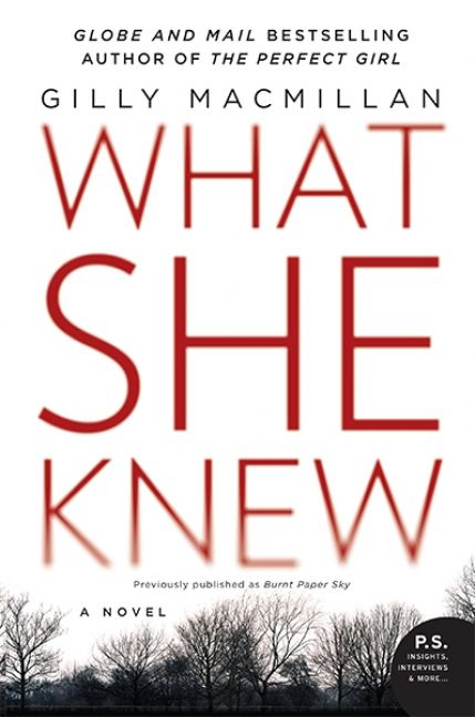What She Knew by Gilly Macmillan is this week's 50 Book Pledge Featured Read! Add it to your To Read shelf now!