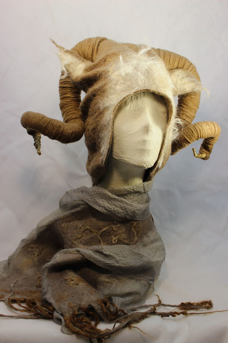 Horned Headdress by Norah Walsh