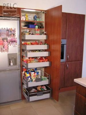 Potravinová skříň.