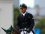 Ruy Fonseca of Brazil rides Tom Bombadill Too in the Equestrian Dressage