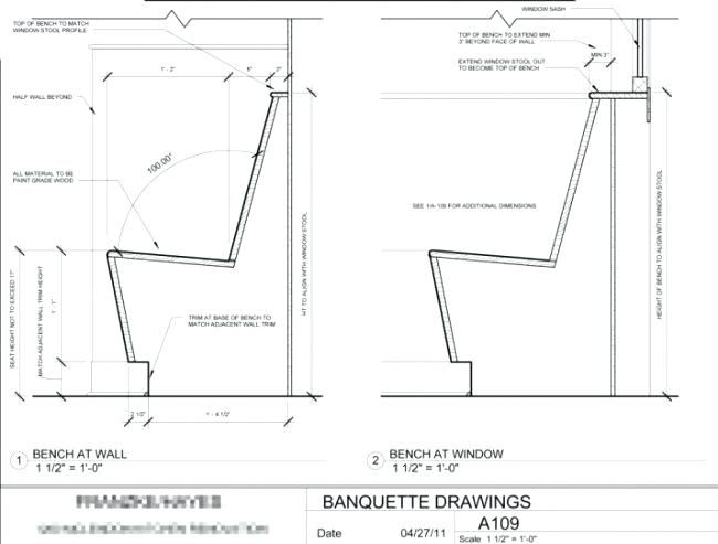 How To Build A Banquette Bench Plans 4 Winsome Plan Corner Seati Seating Restaurant