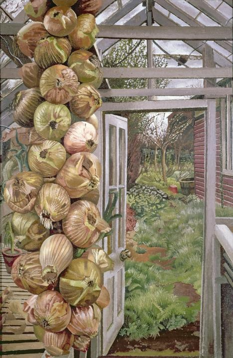 Sir Stanley Spencer KCB CBE RA (1891-1959) was an English painter. Much of his work depicts Biblical scenes