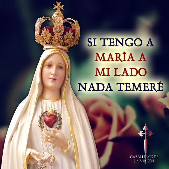 Con Maria nada temere