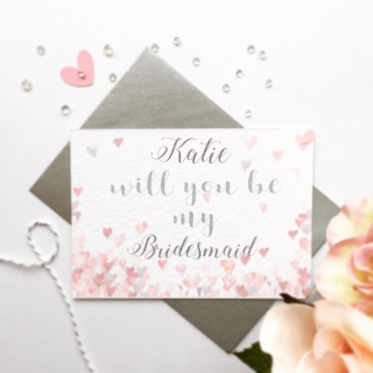 Will You Be Card,Bridesmaid Card,Bridesmaid Invite Card,Will You be My Bridesmaid Card,Bridesmaid Invite,Will You Be Card,Bridesmaid Wedding by QuaintlyKate on Etsy