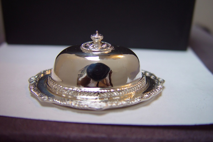 Peter Aquisto... fine silver miniature collectible.