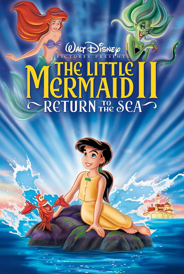 The Little Mermaid II: Return To The Sea | An Authoritative Ranking Of Disney Sequels