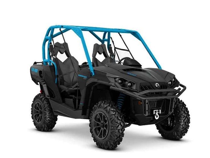 New 2016 Can-Am Commander XT 1000 Matte Black & Octane B ATVs For Sale in Florida. 2016 Can-Am Commander XT 1000 Matte Black & Octane Blue, NEW, IN STOCK ONLY, TRADES WELCOME, FINANCING 1-800-838-4055 2016 Can-Am® Commander XT 1000 Matte Black & Octane Blue LOADED WITH FEATURES FOR ANY TYPE OF RIDING Loaded with features and technology that take value to a new level, the Commander XT is built with best-in-class power, a versatile dual-level cargo box, and rider-focused features perfect for…