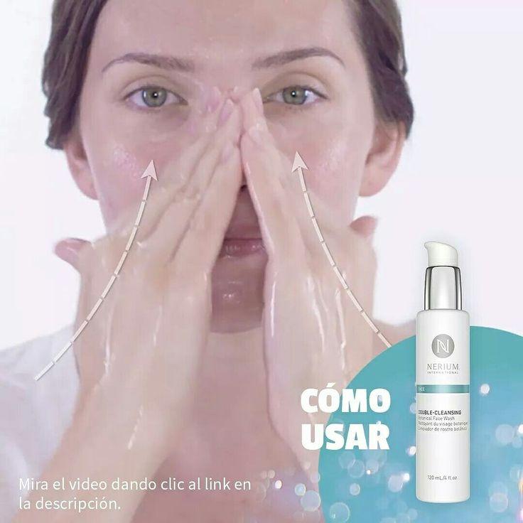 Limpia en la mañana y en la noche, el componente de aceite descompone el maquillaje y las impurezas, luego la espuma y el agua las elimina. El Limpiador Botánico Double-Cleansing te nutre y no deja sensación de resequedad. Mira lo que puede hacer por la salud de tu piel: https://www.youtube.com/watch?v=UvBLWnDtBjo  Adquiere los productos en monicaespejo.nerium.com  Obtén el mejor precio registrándote como cliente preferente y programando tu autoenvío.  MÓNICA MARÍA ESPEJO PÉREZ REPRESENTANTE…