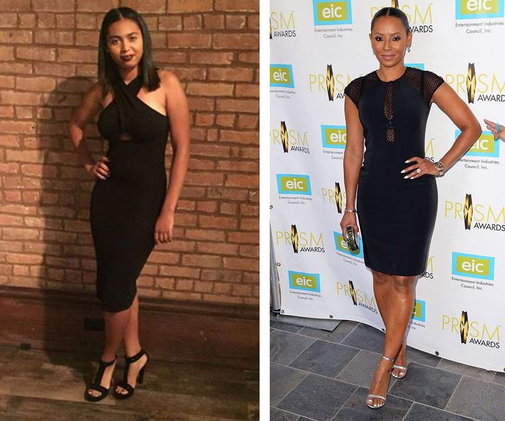 "Total twins! Over the weekend Mel B's 16-year-old daughter Phoenix Chi attended a New York Fashion Week event and looked the spitting image of her pop-star mother. ""@phoenixisphoenix I have no words apart from take off my shoes and dress NOW,"" Mel B mused on Instagram alongside the snap on the left."
