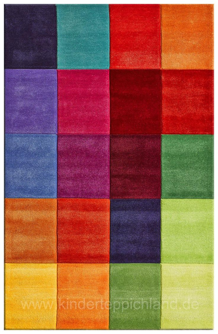 Teppich bunt quadrate  96 besten Dekoration bunt colorfull Bilder auf Pinterest ...