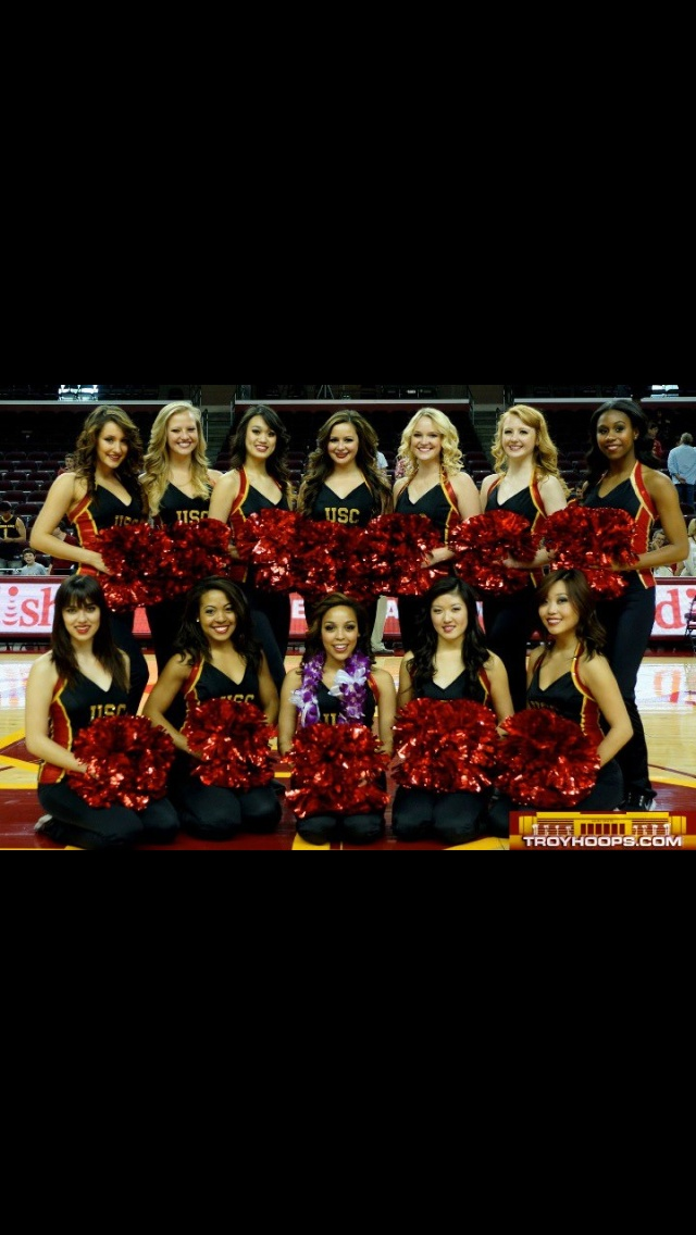 Official Athletic Site Usctrojans >> 47 best USC Song Girls images on Pinterest | College cheerleading, Usc trojans and College cheer