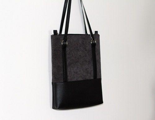 Kabelka Trina - black, grey