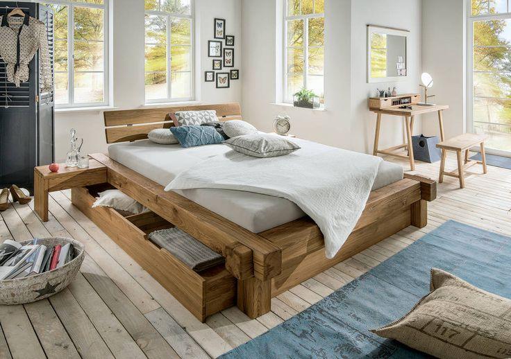 8 camas em madeira sensacionais (De LuciPais - homify) https://br.pinterest.com/pin/560698222351257442/