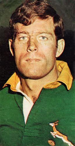 Springbok great Jan Ellis