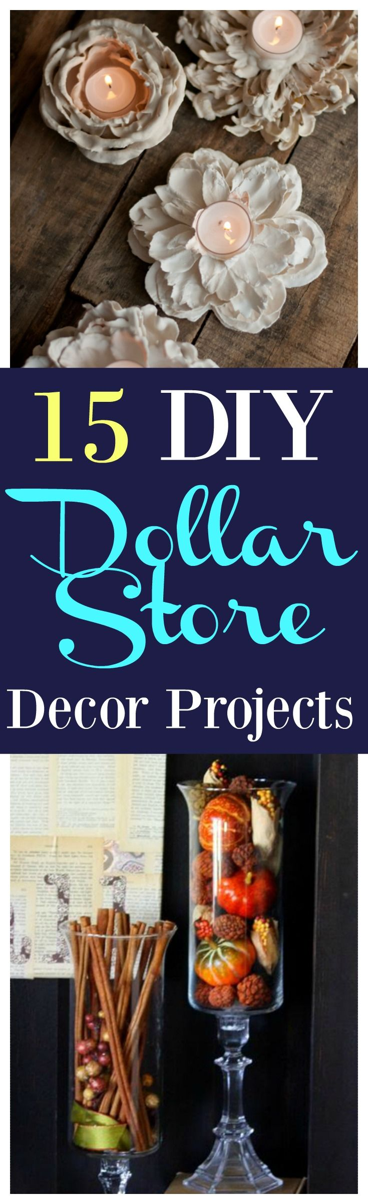 15 Gorgeous DIY Dollar Store Decor Projects That Only Look Expensive!