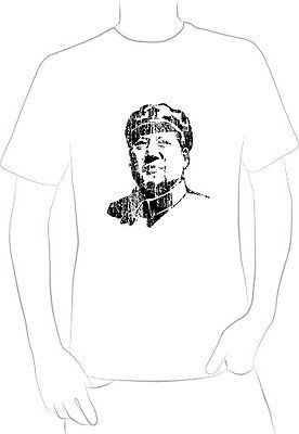 MAO CHINA POLITICAL FIGURE t-shirt visionary leader communist cold war NEW - A10