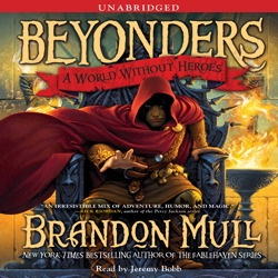 """Written by Brandon Mull, author of the """"Fablehaven"""" series.  Absolutely spellbinding.  He did an excellent job creating a unique world which is tied to our own.  I just finished the second book, """"Seeds of Rebellion.""""  The third and final, """"Chasing the Prophecy"""" is out in Spring of 2013.  Can't wait!"""