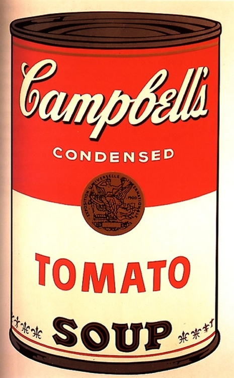 Campbell's Soup I: Tomato, c.1968  by Andy Warhol  #Art