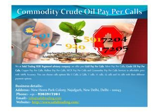 Best Crude Oil Jackpot Calls  Safal Trading is a leading SEBI Registered mcx commodity advisory services provider company, providing the best commodity crude oil jackpot calls,accurate mcx crude oil tips,crude oil sure shot call,crude oil tips,99% sure crude oil calls,crude oil jackpot calls,crude oil update,crude oil commodity tips,mcx calls in crude oil,intraday crude oil tips,mcx crude oil calls,crude oil intraday tips,commodity crude oil jackpot calls,bumper jackpot crude oil calls,best…