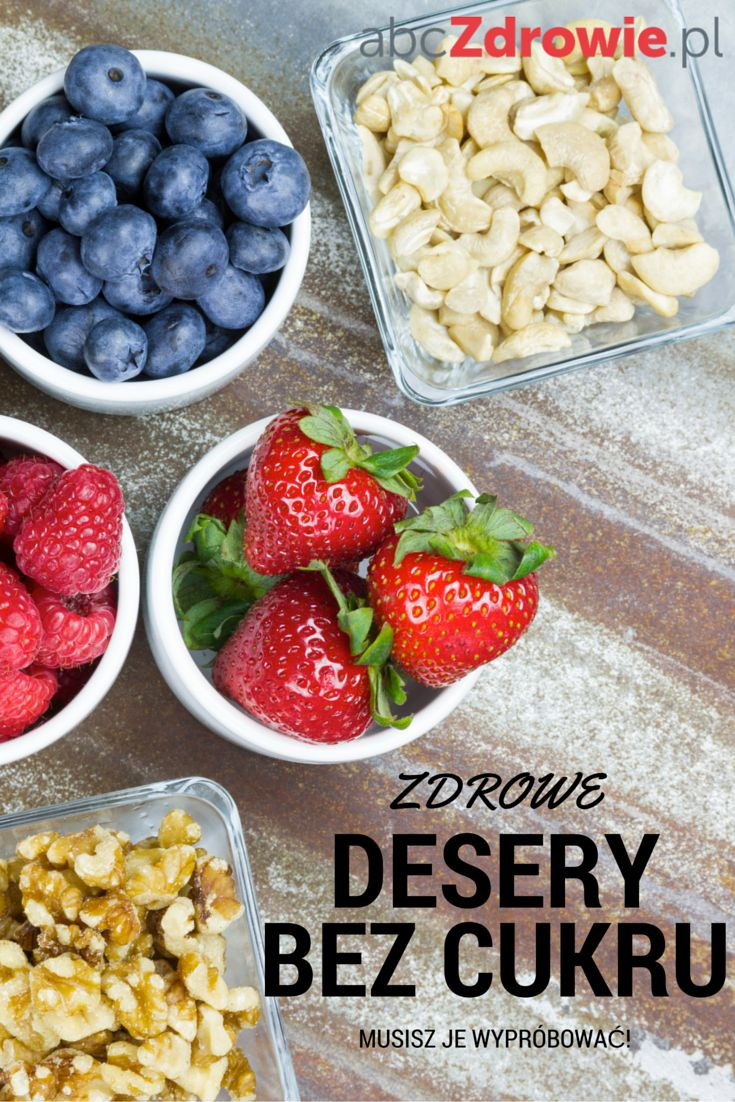 Przygotuj razem z nami zdrowe desery bez cukru. To proste i smaczne przekąski, idealne dla dorosłych i dzieci.   #słodycze #bezcukru #zdrowedesery #desery #desserts #nosugar #sugarfree #healthy #abcZdrowie