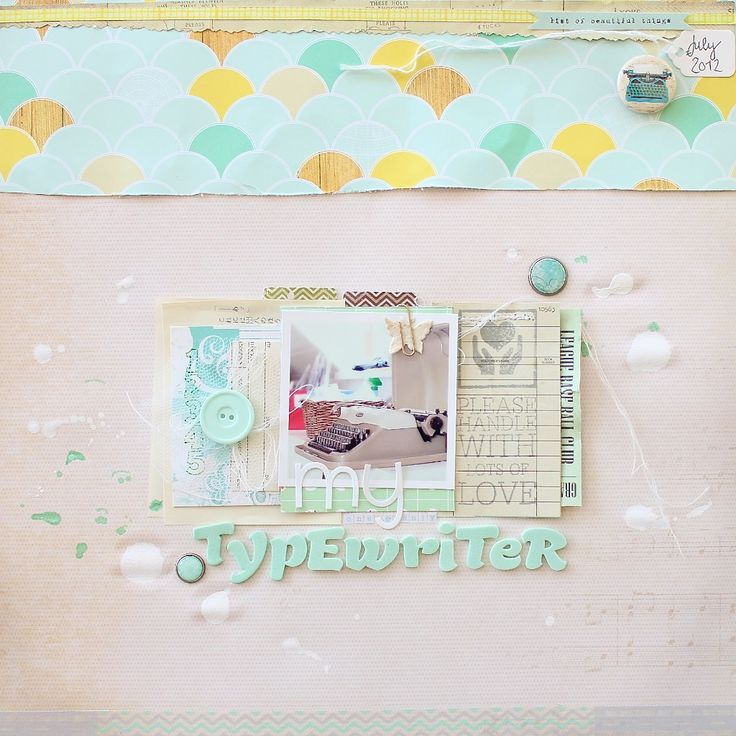 janna werner: Scrapbook Layouts, Scrapbook Inspiration, Sb Layouts, Layouts 12, Chic Tags, Happy Layouts, Scrapbooking Layouts