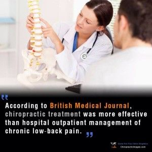 Chronic low-back pain & chiropractic treatment