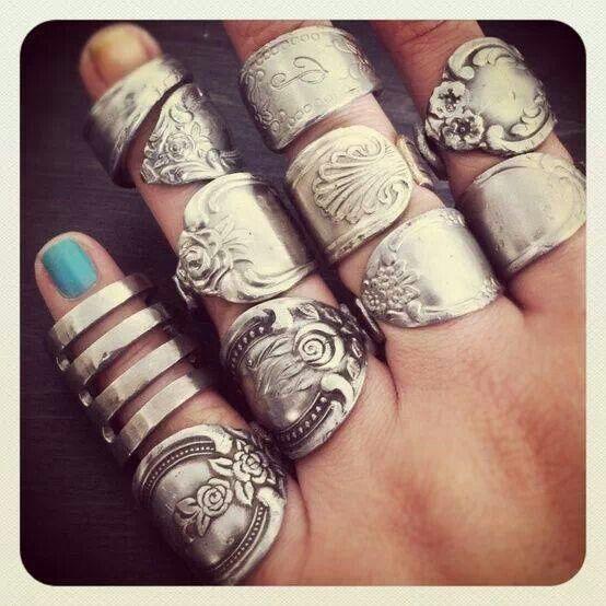 Spoon rings!