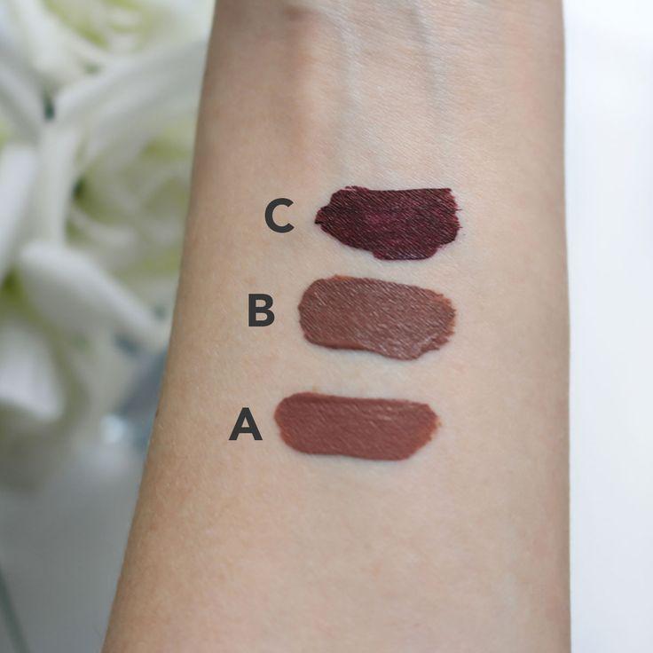 fall lipstick colours // by Erin Elizabeth