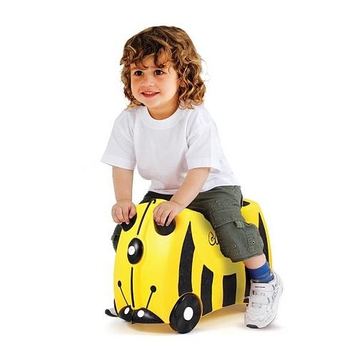 TRUNKIE Ride On Suitcase Bernard