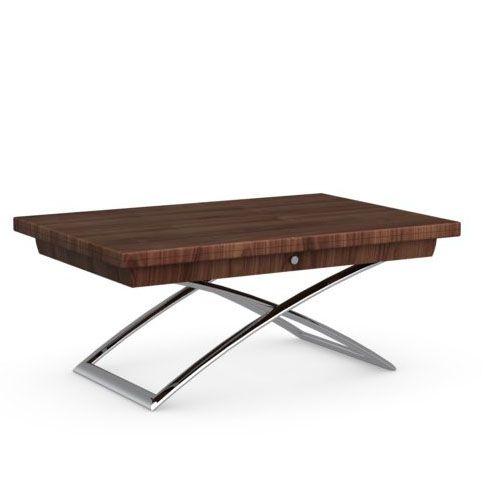 Tavoli pieghevoli tavolini trasformabili magic j calligaris piano noce struttura noce gambe - Tavolo olivia pocket calligaris ...
