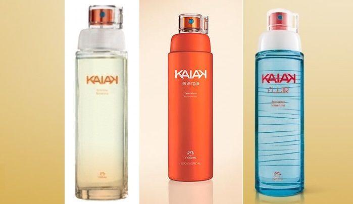 As fragrâncias de Kaiak são versáteis e modernas, transmitem sensações de liberdade e frescor, sendo adequadas para o uso durante o dia.  Veja a que mais combina com você!