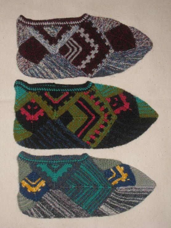 Gallery.ru / Фото #2 - Тапочки,носочки. - Jollga