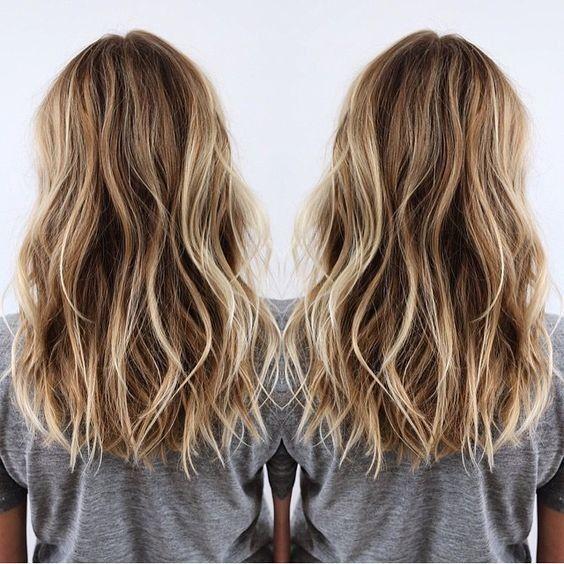 10 beauté moyenne longue coupe de cheveux - Tendances de cheveux moyens pour les femmes