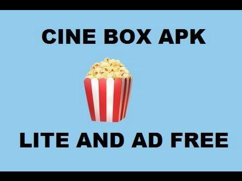 CINE BOX LITE AD FREE APK 2017   TVs