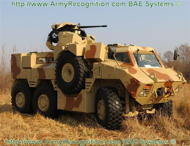 Armoured Fighting Vehicle | RG35 6x6 Multi-purpose mine blast protected armoured fighting vehicle ...