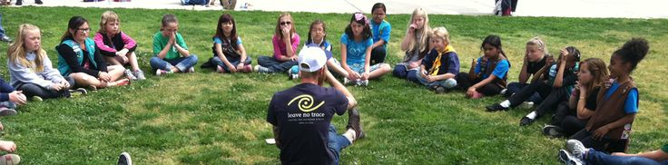 Concepts and Plans for Teaching Leave No Trace | Leave No Trace