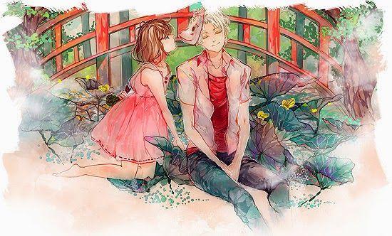 Hotarubi no Mori e chorei quando assistir, é muito muito muito lindoooooooo