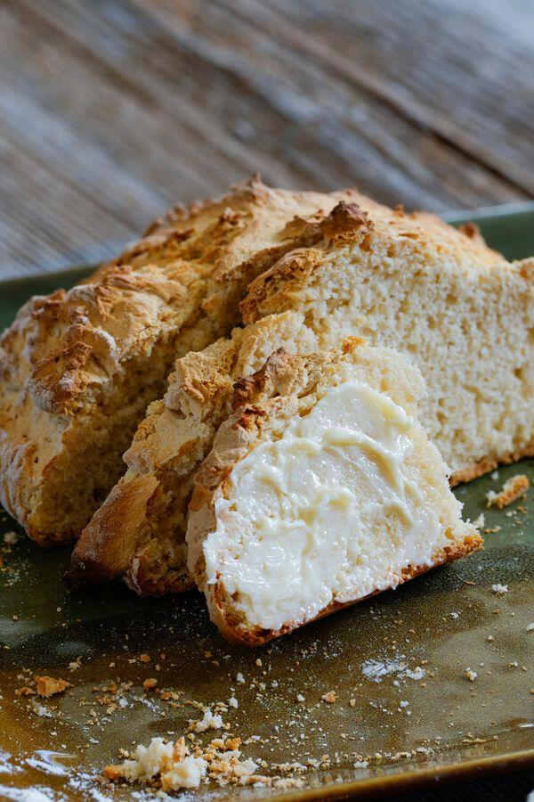 Authentic Irish Soda Bread Made With Flour Sugar Baking Powder Baking Soda Salt Butter Buttermilk Cdkitchen Com In 2020 Soda Bread Irish Soda Bread Recipes