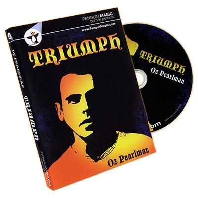 Triumph by Oz Pearlman and Penguin Magic - DVD