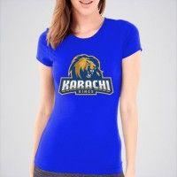 Karachi Kings PSL League Cotton T-shirt. PSL-03