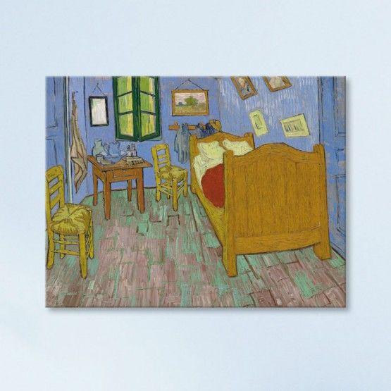 La Chambre à coucher de Vincent Van Gogh | Peintures de van ...