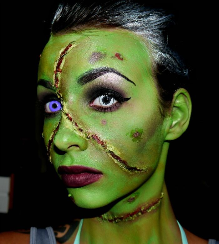 83 best images about makeup facepainting by melissa saveenlarge frankenstein makeup tutorial madeyewlook halloween