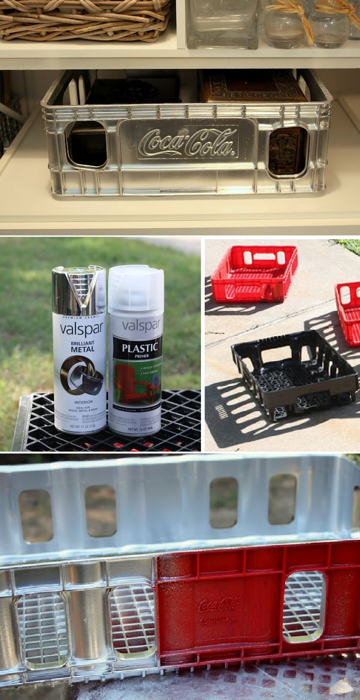 How to Spray Paint Plastic : Valspar's  clear plastic primer & Valspar's Brilliant Metal (silver cap) which is an enamel.