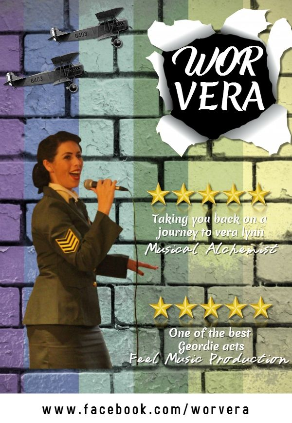 Wor Vera tribute to Vera Lynn, can be seen around the northeast of England.  #pltjon#planetjon #worvera