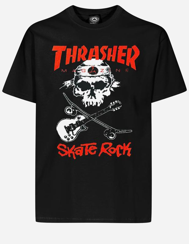 Thrasher - Thrasher Skate Rock T-Shirt