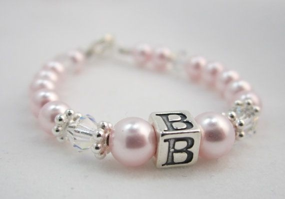 Hey, I found this really awesome Etsy listing at https://www.etsy.com/listing/80522829/stunning-initial-baby-bracelet-bpi